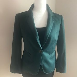 Forest Green Blazer by The Limited